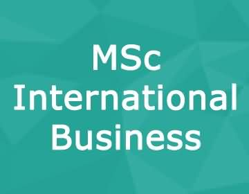 Brunel University – MSc International Business