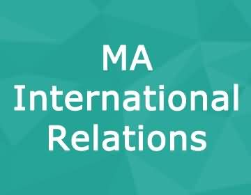 Brunel University – MA International Relations