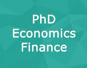 Brunel University – PhD Economics & Finance