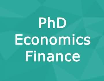 Brunel University – PhD Economics & Finance