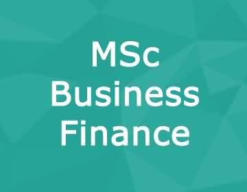 Brunel University – MSc Business Finance