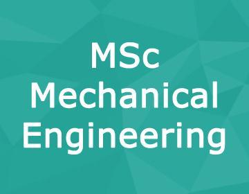 Brunel University – MSc Advanced Mechanical Engineering